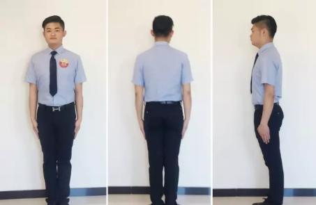管理人員男士工作服穿戴要求