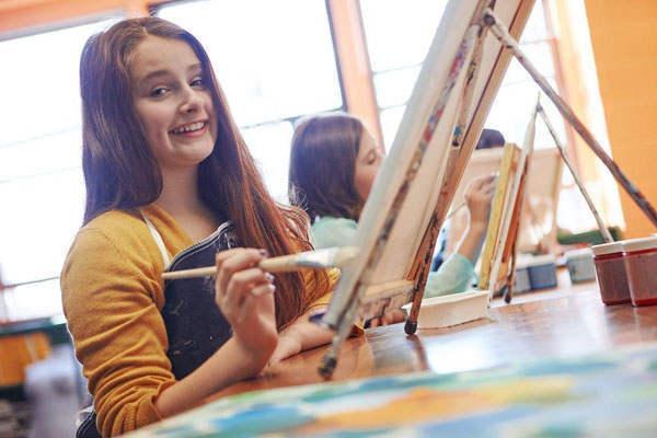 学习少儿创意艺术可以卸除孩子的消极心理负担