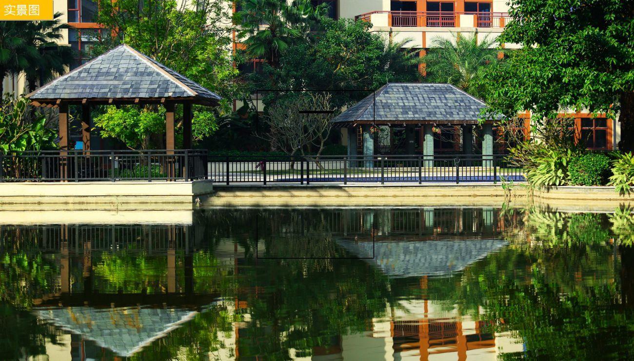 雅居乐花园小区湖景