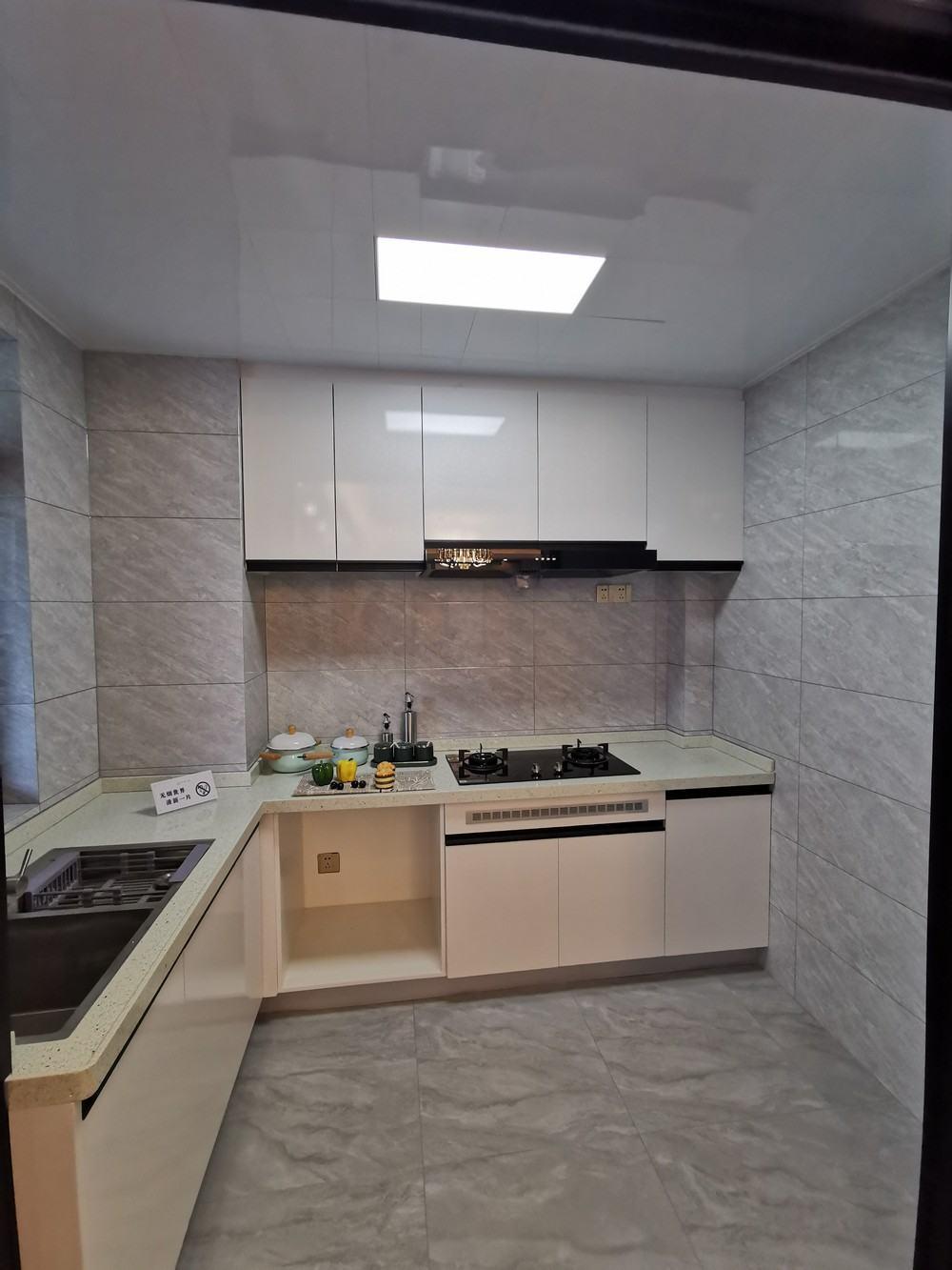 聚源上府109平米户型厨房