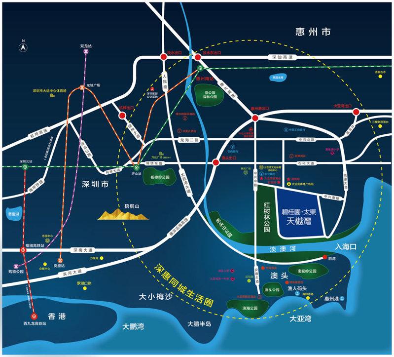 碧桂园太东天樾湾位置和配套