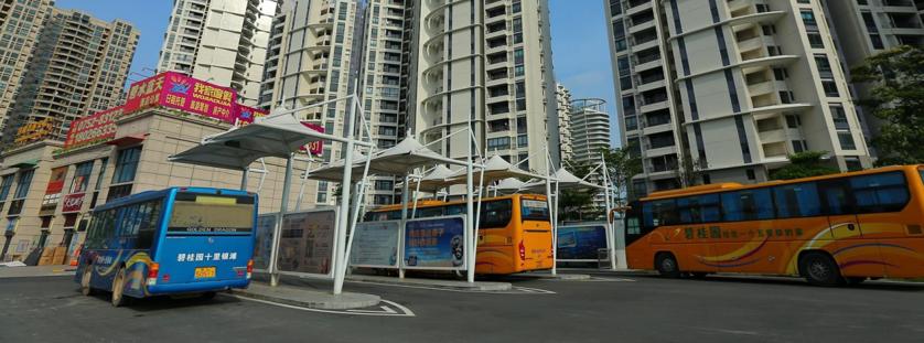 碧桂园十里银滩交通中心业主楼巴