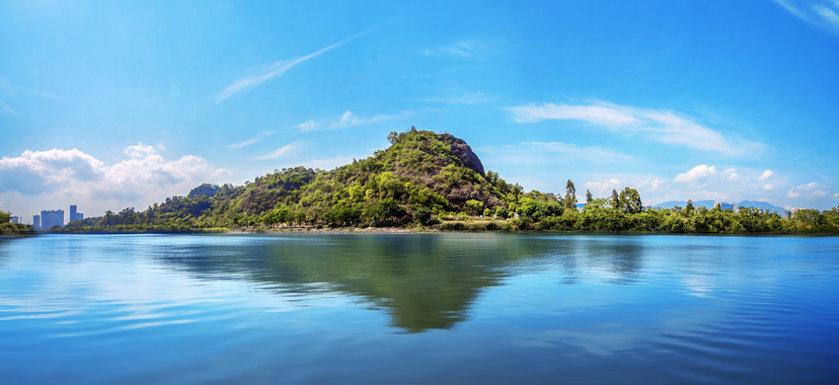 淡澳河红树林公园龙湾望峰实景图