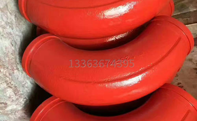 275*90泵车大弯管的图片