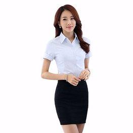 女士短袖衬衣05