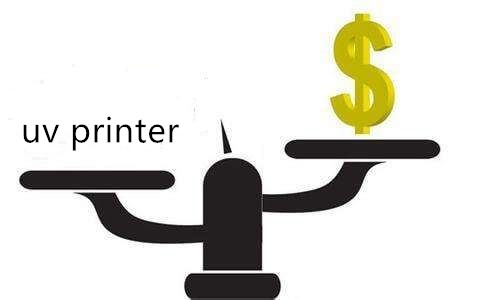UV printer cost-effective calculation formula