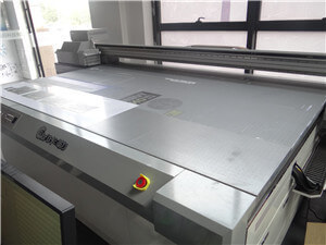 the industrial flatbed printer