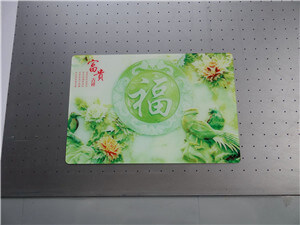 Is the printing cost of acrylic advertising printer high