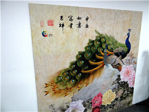 Uv printer creative personality printing new style of home decoration