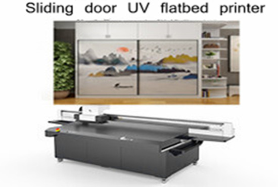 Sliding door UV flatbed printe ...