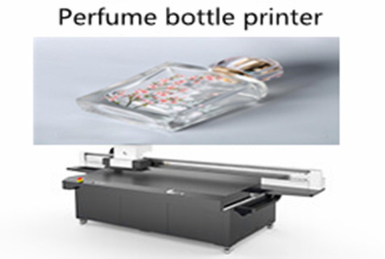 Perfume bottle printer