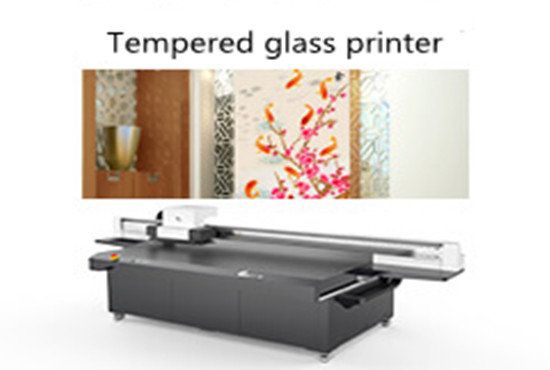 Tempered glass printer