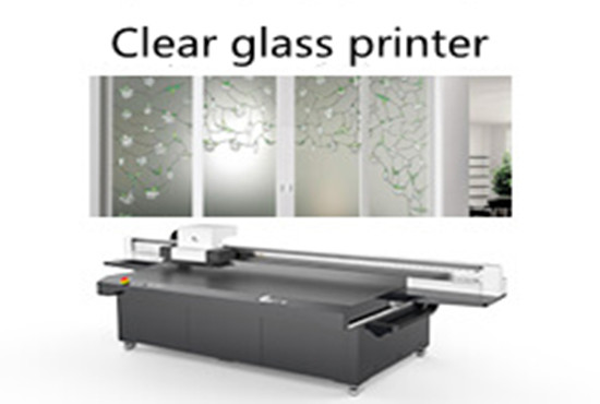 Clear glass printer