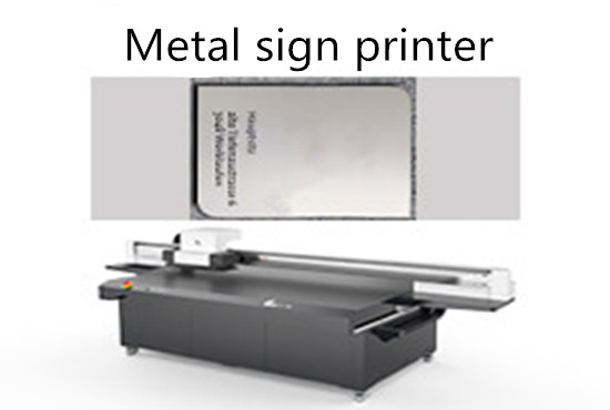 Metal sign printer