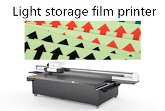 Light storage film printer