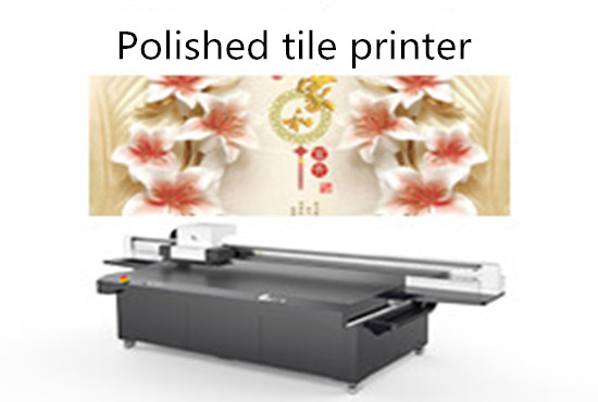 Polished tile printer