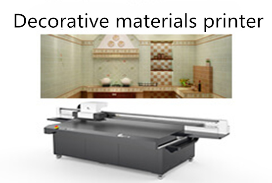 Decorative materials printer
