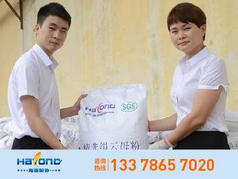 海扬品牌粒径5±2um湿法云母粉 HY-TM6