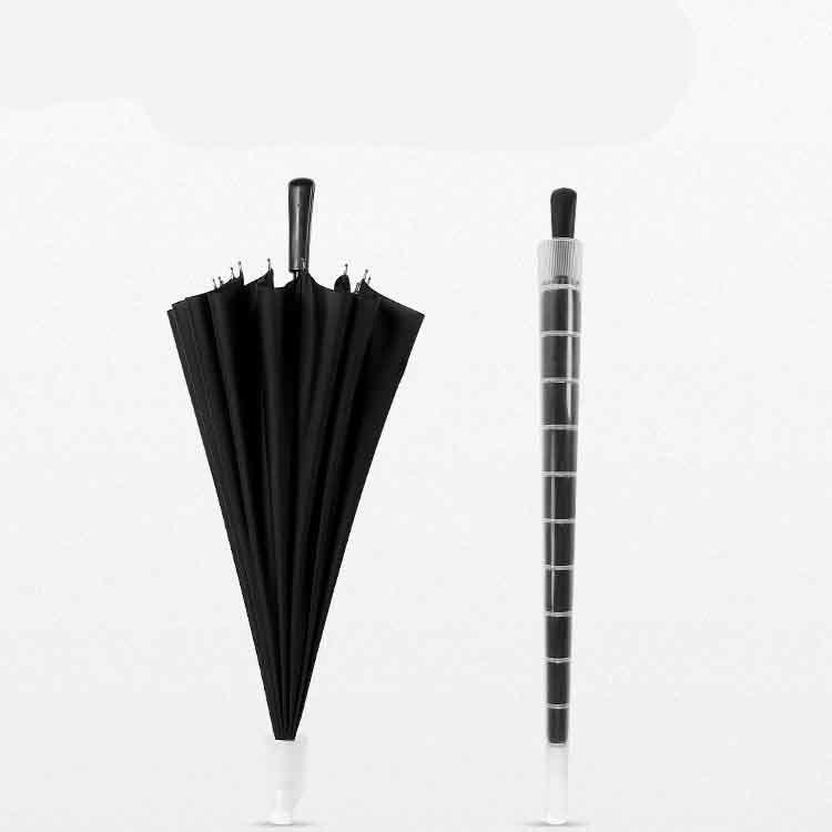 时尚防水套双人双骨直杆伞制造赠品制造制做