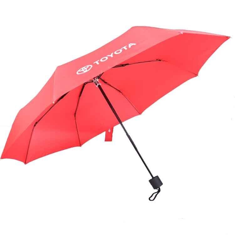韩版小清新超细铅笔遮阳3折折叠伞直销供应批