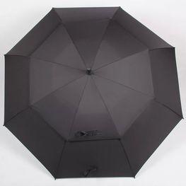 挂钩弯柄男士高尔夫礼品伞玻璃纤维防风订做厂