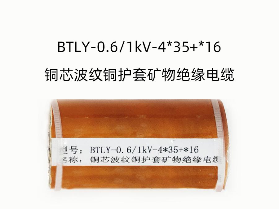 BTLY-0.6/1kV-4*35+*16