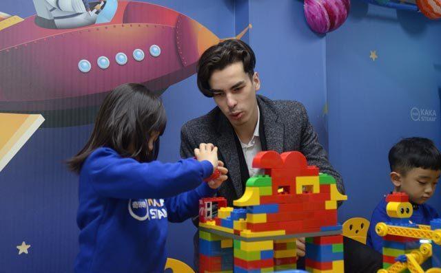 奇咔乐高机器人课堂展示