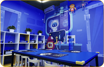 奇咔咔乐高机器人编程学校-教室展示3