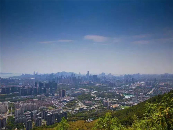 深圳塘朗山