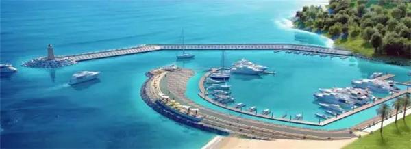 亚龙湾游艇码头