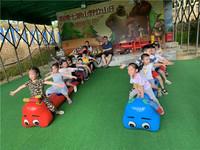 深圳公司团建拓展趣味活动游戏—毛毛虫竞赛