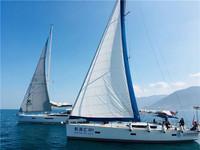 深圳海上大型户外公司团建活动—帆船出海
