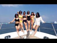 海上豪华游艇商务活动生日派对聚会—豪华游艇租赁