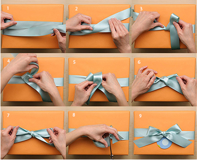 satin ribbon for gift wrapping