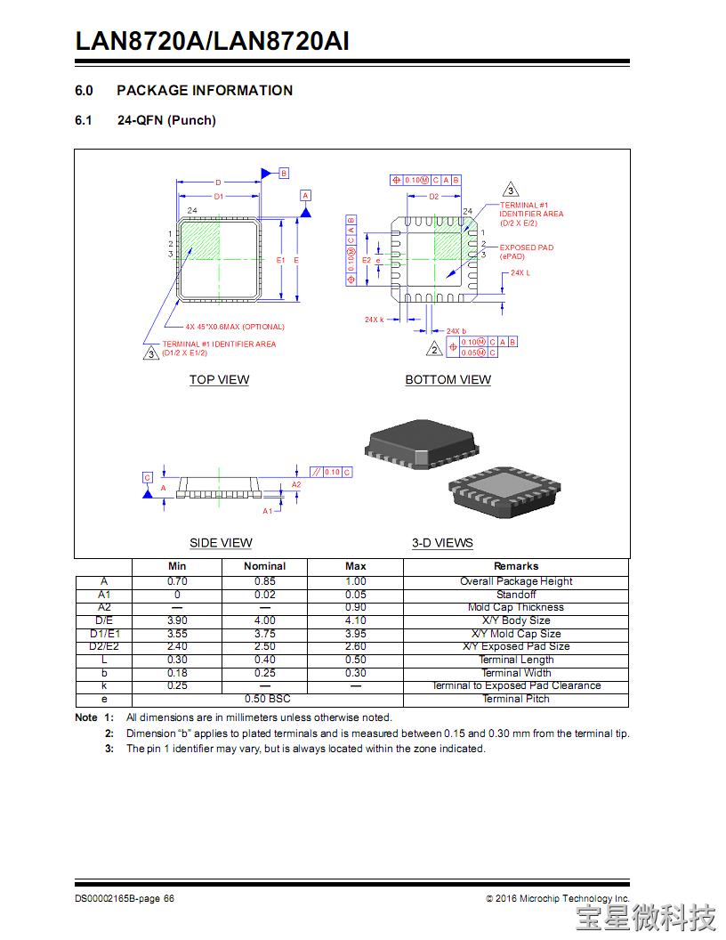 LAN8720A封装PCB参考