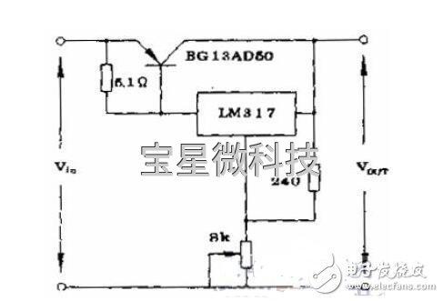 lm317扩流工作原理及方法分析