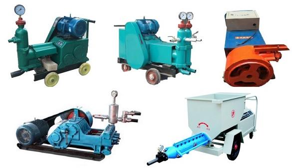 灌浆泵(注浆设备)类型优劣势对比分析