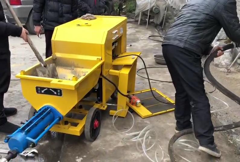砂浆喷涂机怎么选?好的砂浆喷涂机有哪些特质?成都申港为你分析