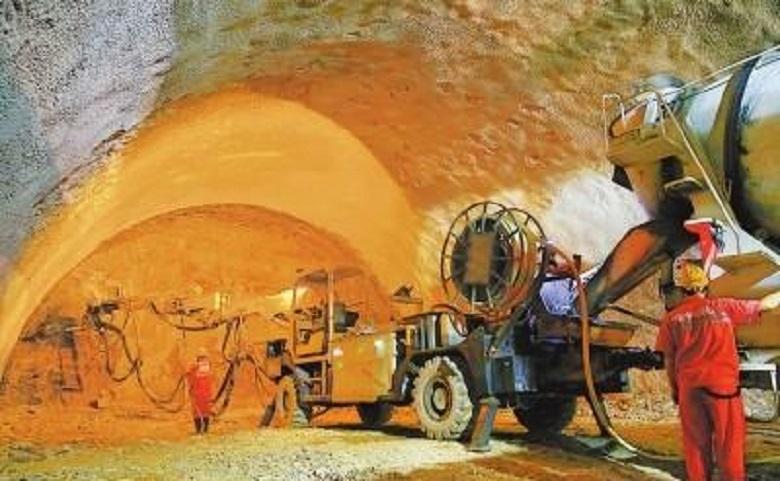 混凝土濕噴機之隧道噴射混凝土作業指導書