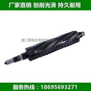 螺旋式分体刀片刨刀,刀轴,厦门景枫厂家直销125*630压块重切式