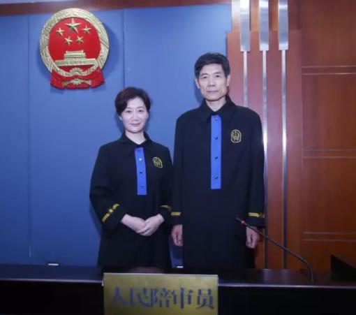 陪审员新式制服