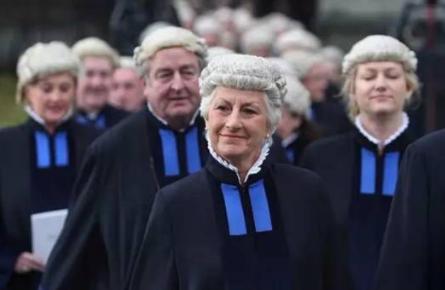 英国法官袍