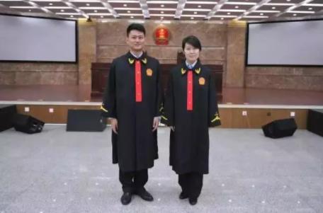 法院法官法袍