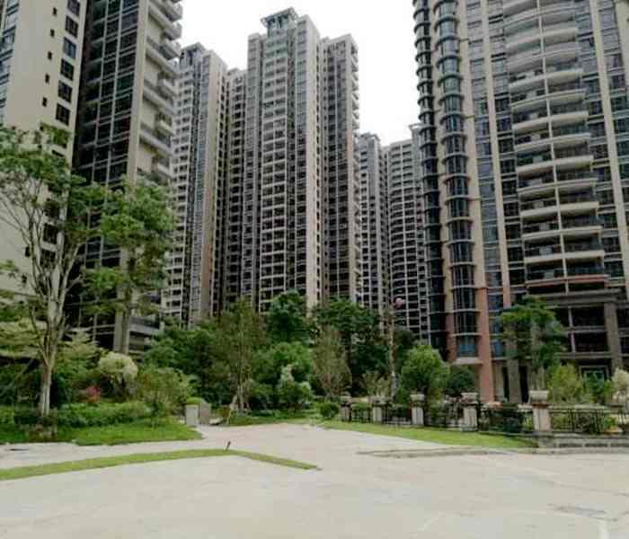 【深圳龙胜地铁站小产权房】-龙军花园12栋大型花园小区房