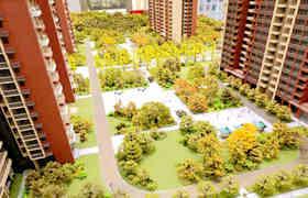 「龙岗村委统建房价格」-半山名著,十二栋花园小区房