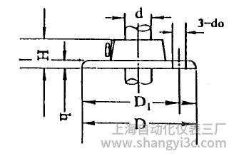 化工用热电偶、热电阻活动法兰图片尺寸