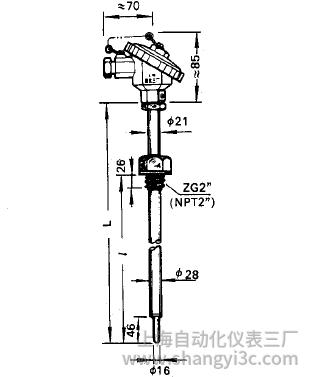 WRNR-12、WRER-12电站测温专用热电偶