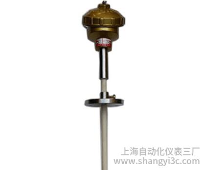 固定法兰防水接线盒双铂铑热电偶