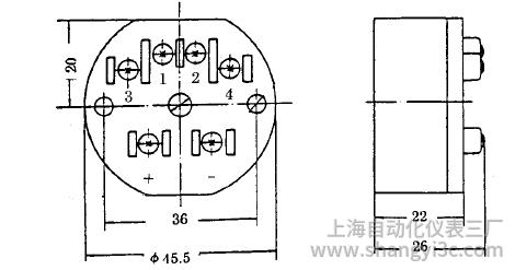 SBWR-2261智能型热电偶温度变送器安装图片