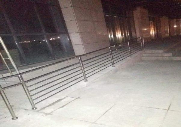 特殊通道防护栏定制